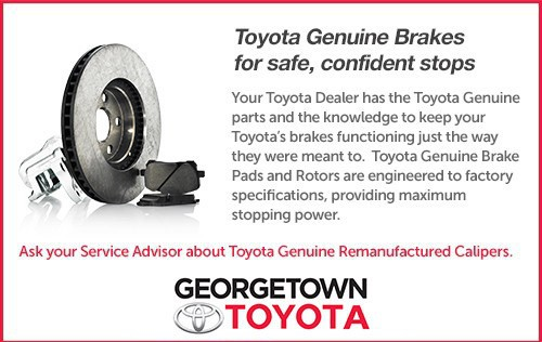 Toyota Genuine Brakes for safe, confident stops