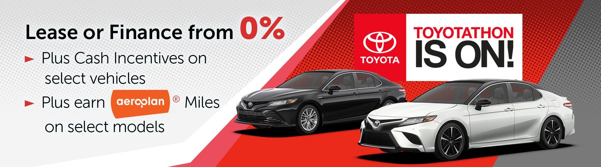 Toyotathon Sales Event in Georgetown