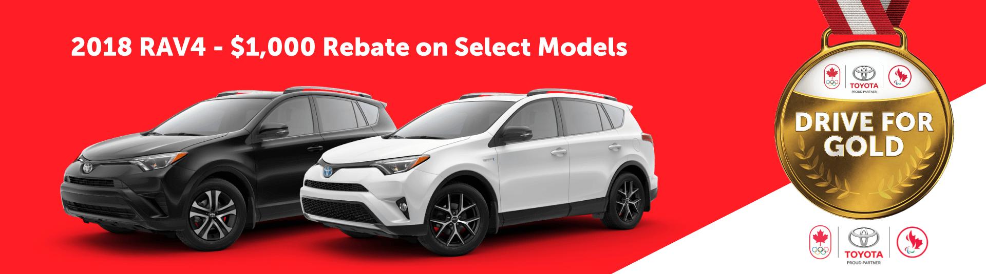 2018 Toyota RAV4 Sales