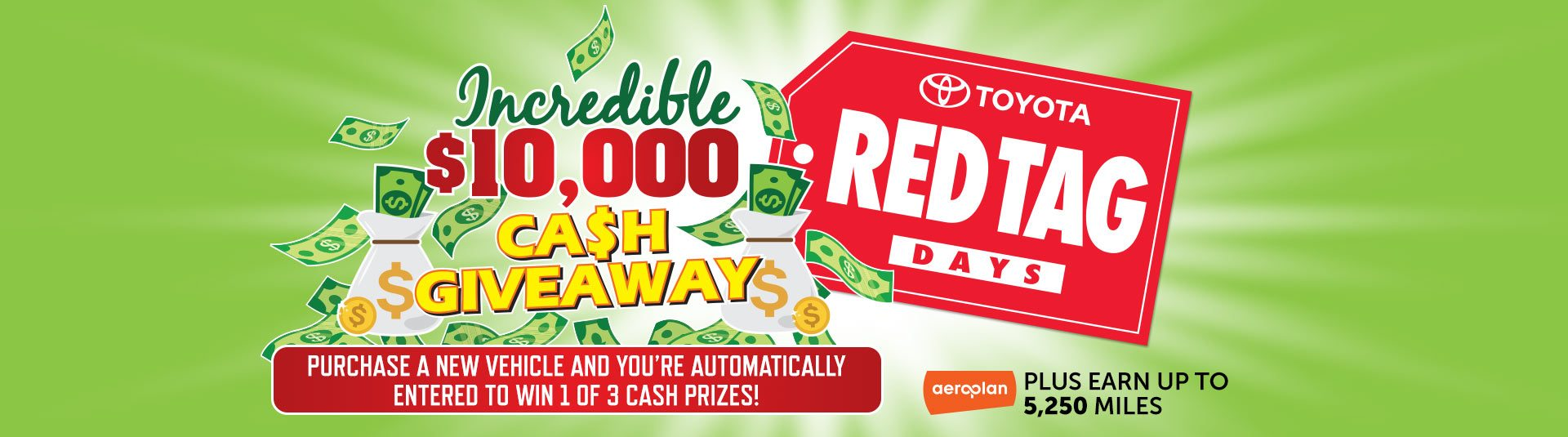 Toyota Red Tag Day & $10,000 Giveaway
