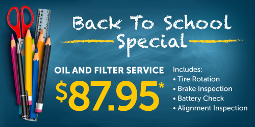 Back To School Service Special