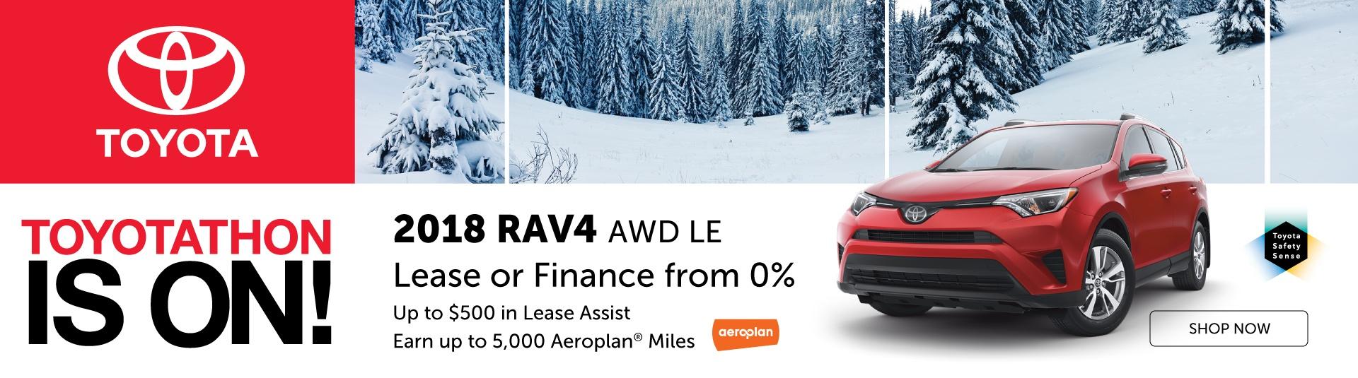2018 Toyota RAV4 Offers in Georgetown