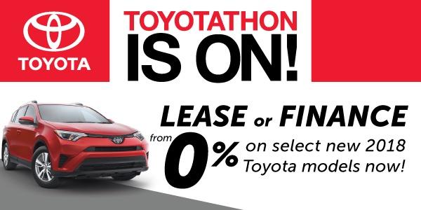 2018 Toyotathon Sales Event in Georgetown
