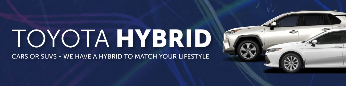 Toyota Hybrid Cars & SUVs