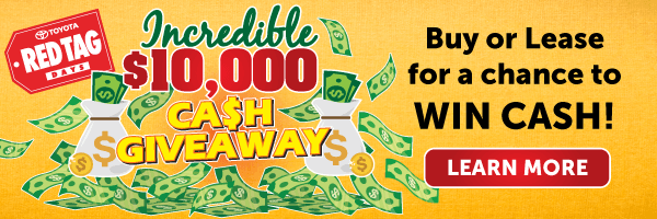 red tag day cash giveaway