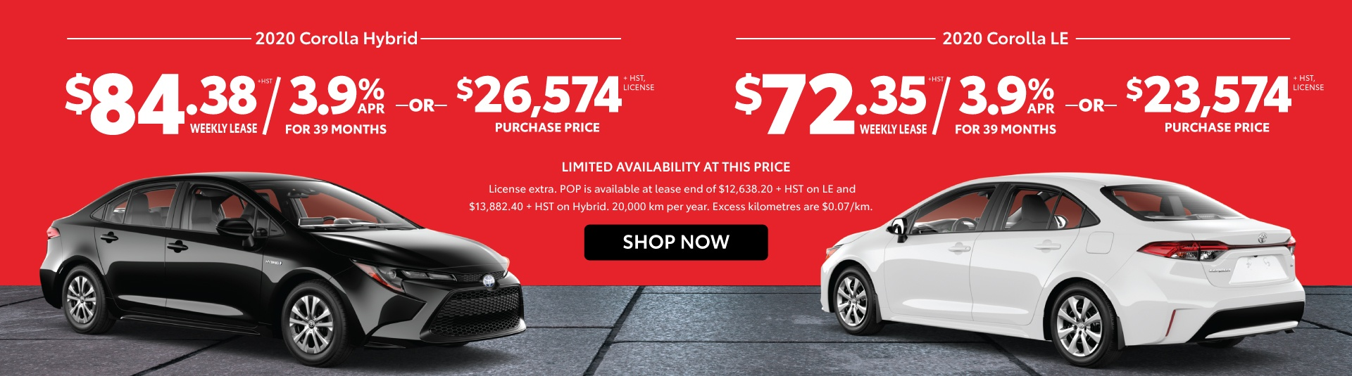 2020 Corolla and Hybrid