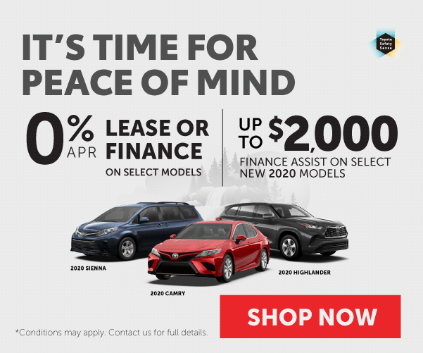It's Time For Peace of Mind