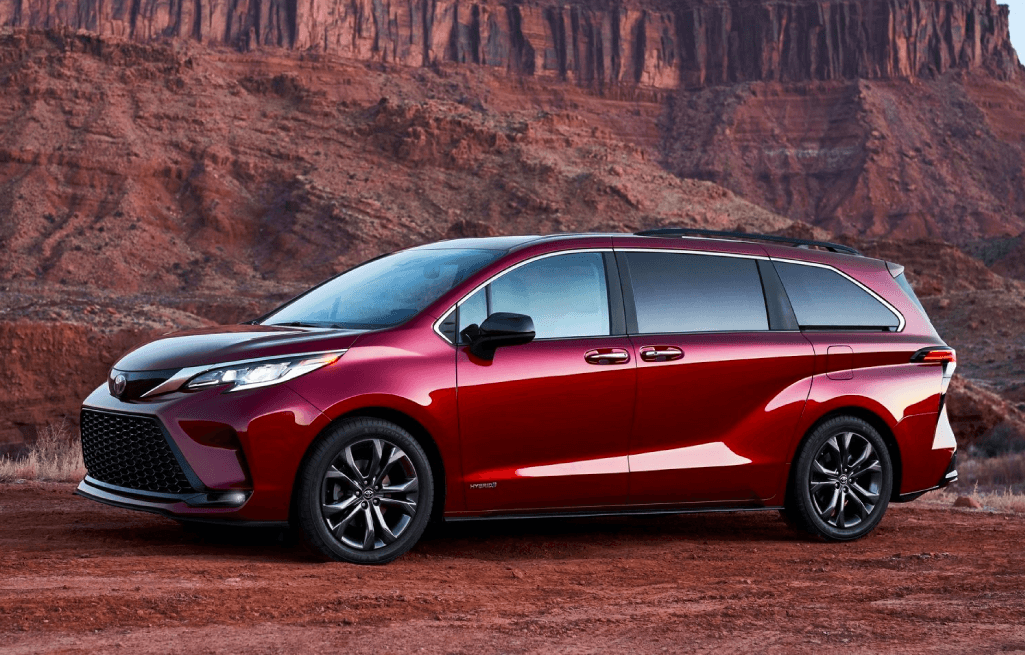 Introducing the All-New 2021 Toyota Sienna