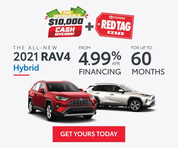 2021 RAV4 Hybrid in Georgetown