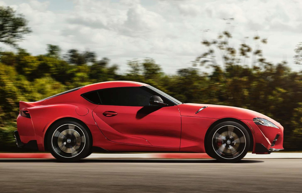 Race Into 2021 With the All New Toyota GR Supra