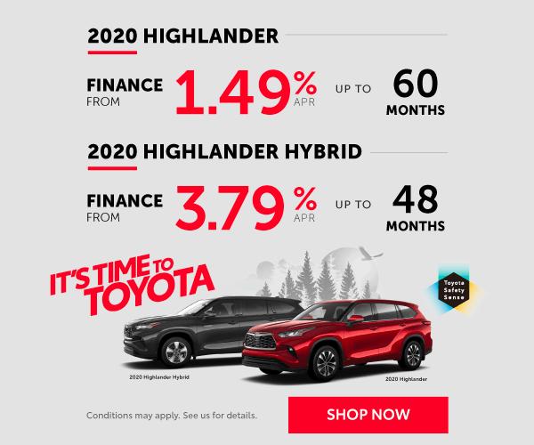 2020 Highlander Offer