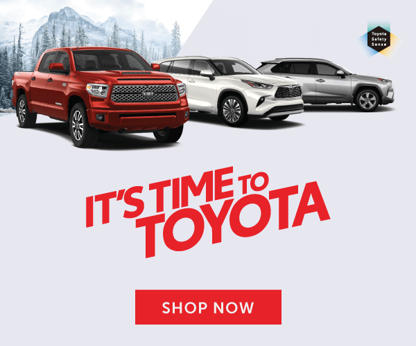 It's Time To Toyota - 2021 Model lineup at Georgetown Toyota