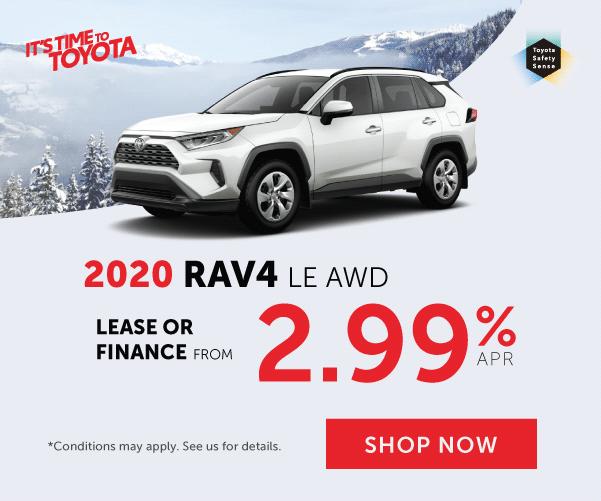 2020 RAV4 Offer at Georgetown Toyota
