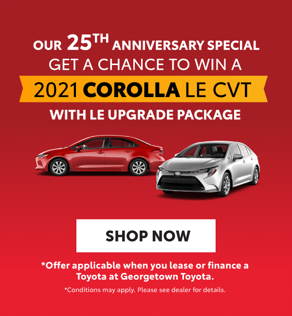 Toyota Red Tag Days Offers Georgetwon