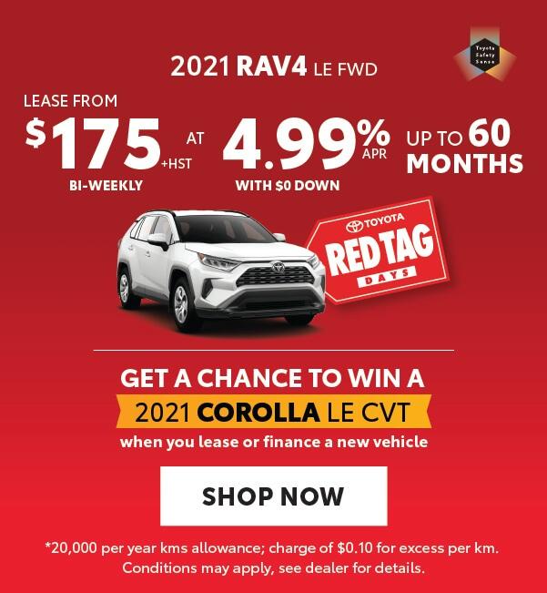 RAV4 offer Georgetown Toyota