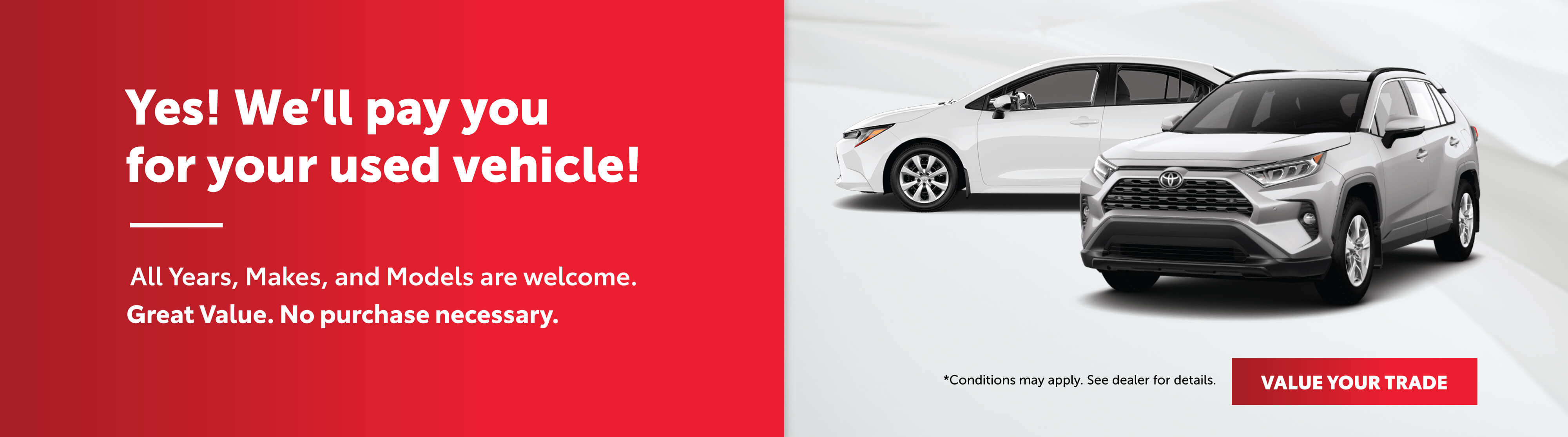 Georgetown Toyota Trade in offer