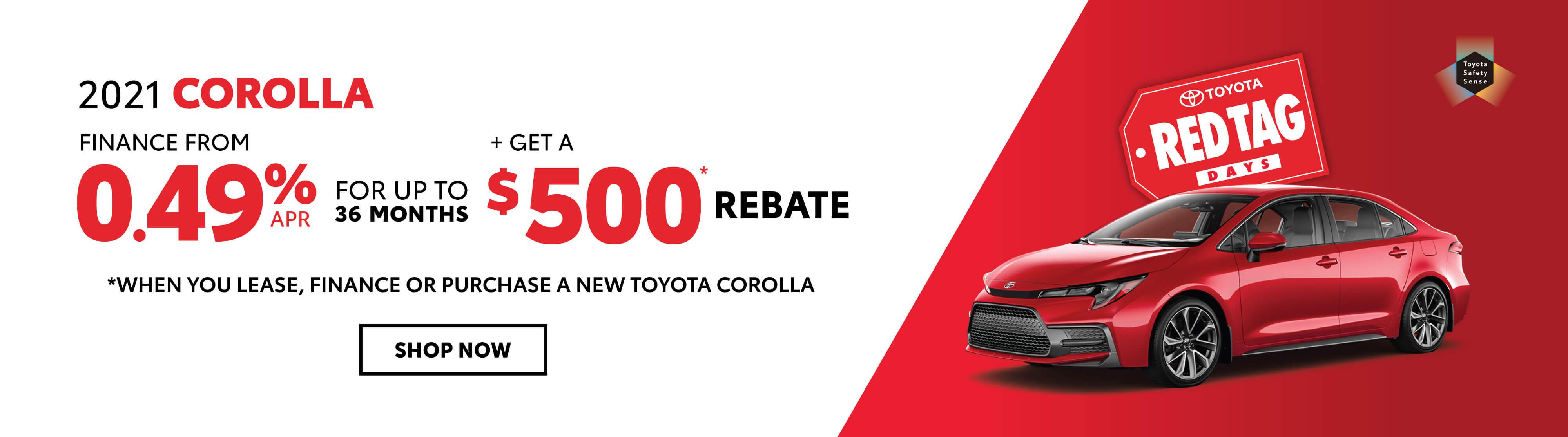 Toyota Corolla Offer Georgetown Toyota