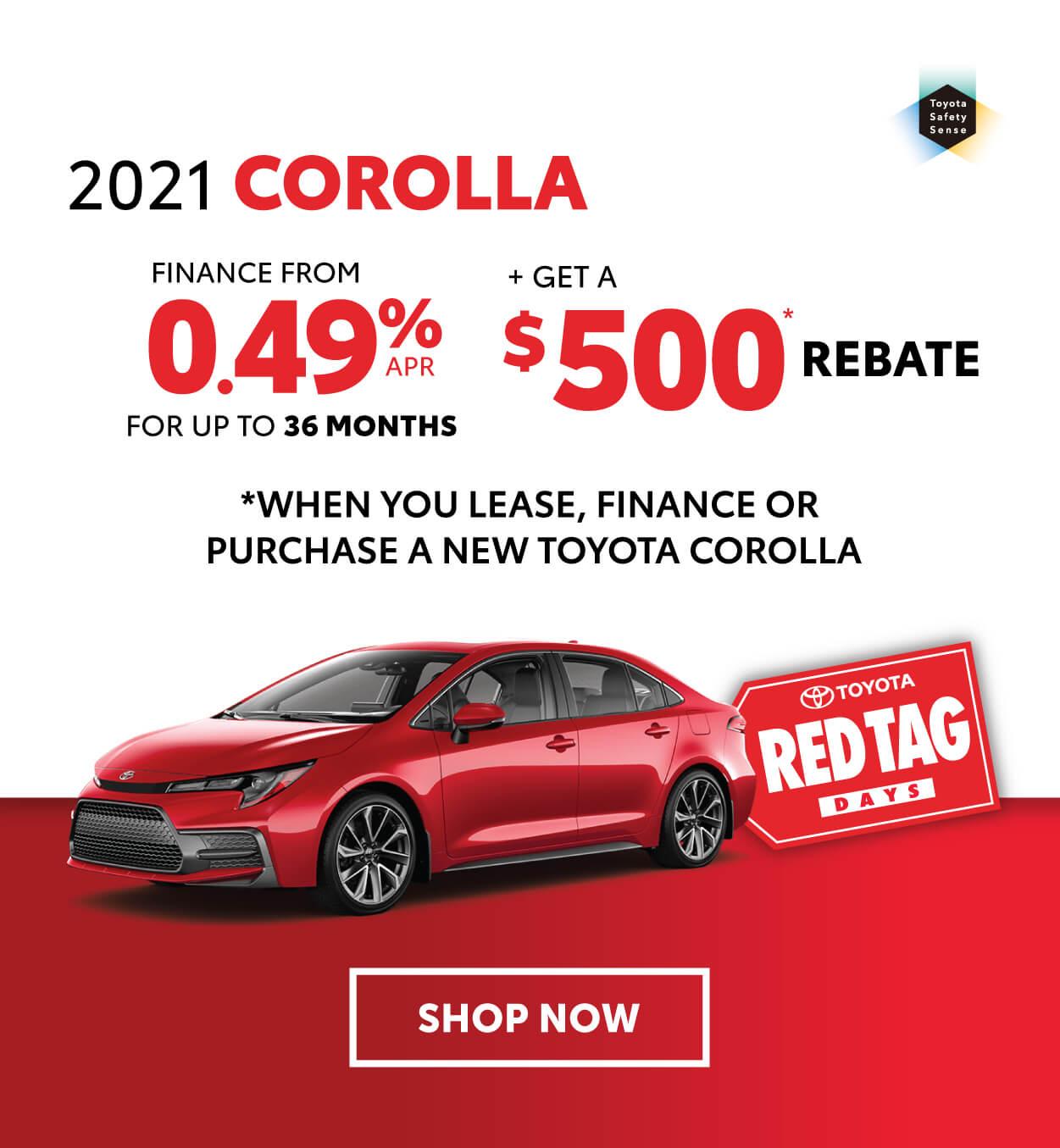 Georgetown Toyota Corolla Offer