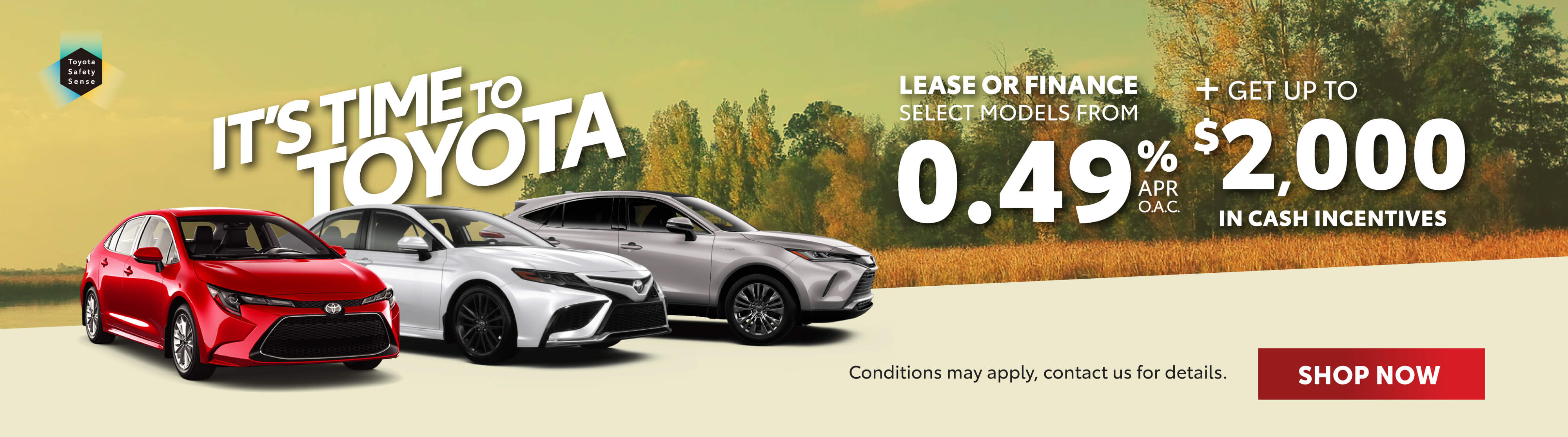 Toyota Promotions Georgetown - Its Time To Toyota Georgetown Toyota