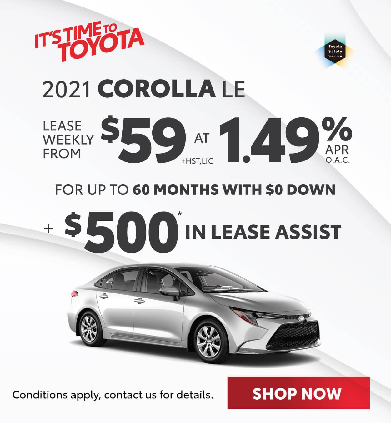 2021 Corolla Georgetown Toyota