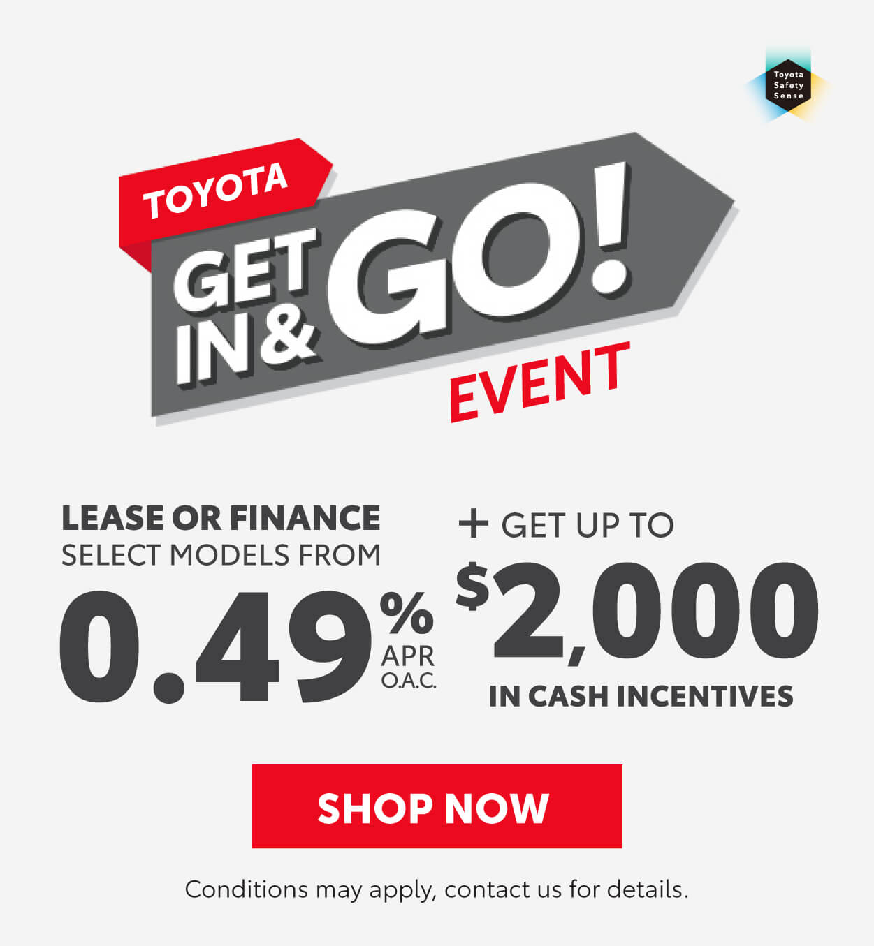 Toyota Get in and go event Georgetown Toyota