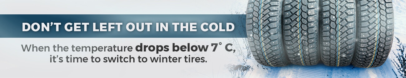 winter tires at Georgetown Toyota